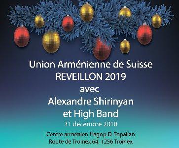 Réveillon Union Arménienne de Suisse 2019