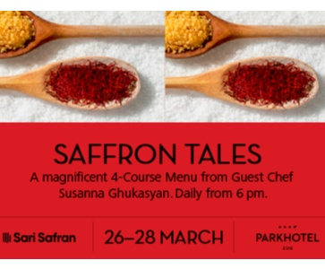 Saffron Tales - Sorry event is CANCELLED!