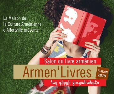 Salon Armen'Livres 2019 à l'école Hamaskaine Tarkmatchadz
