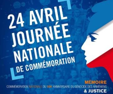Commémoration du Génocide des Arméniens à Nice