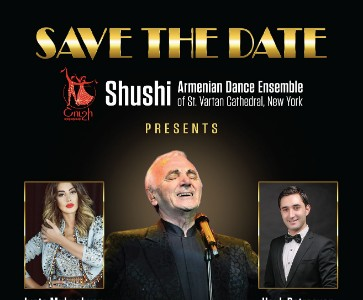Shushi Dance Ensemble presents POUR TOI AZNAVOUR