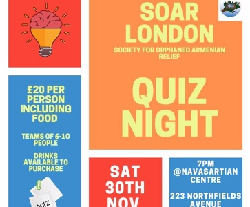 SOAR LONDON QUIZ NIGHT