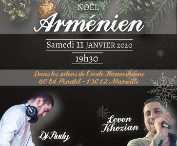 Soirée dansante Noël Arménien