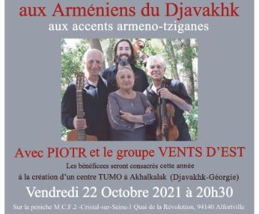 Soirée de soutien aux Arméniens du Djavakhk en Géorgie