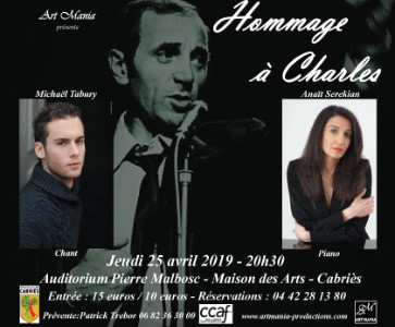 SOIREE HOMMAGE A CHARLES AZNAVOUR