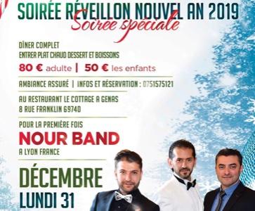 Soirée Réveillon Nouvelle an 2019 Lyon