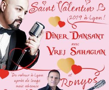 Soiree saint valentin Vrej & Ronyos