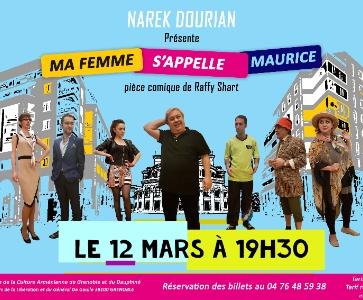 Spectacle comique de Narek Dourian