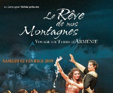 """Spectacle de Yeraz """"Le Rêve de Nos Montagnes"""""""