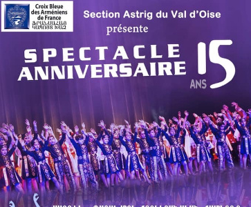 Spectacle anniversaire 15 ans