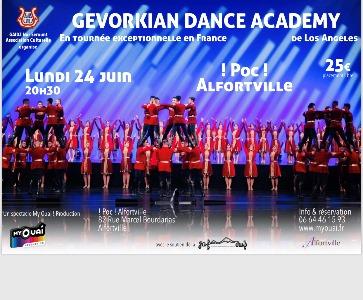 """Spectacle inédit de danse arménienne de la """"GEVORKIAN DANCE ACADEMY"""""""
