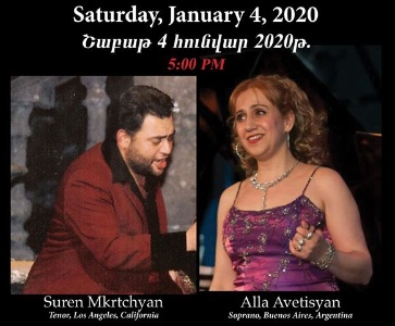 Spiritual and Armenian Songs