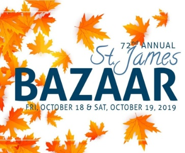 St. James 72nd Annual Bazaar!