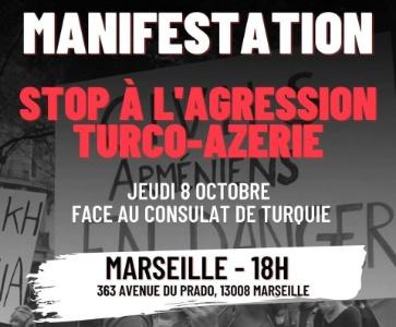 Stop à l'agression turco-azérie