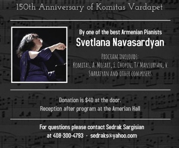 Svetlana Navasardyan Piano Recital