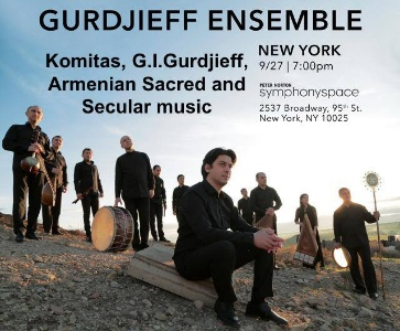 The Gurdjieff Ensemble at Symphony Space