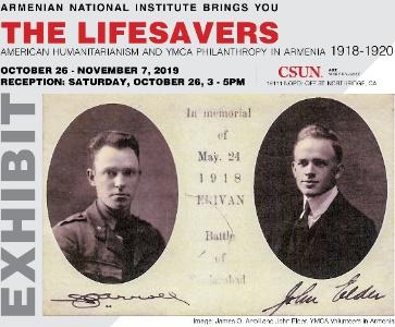 The Lifesavers - American Humanitarianism and YMCA Philanthropy in Armenia 1918-1920