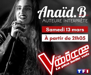 THE VOICE 2021 - ANAÏD.B