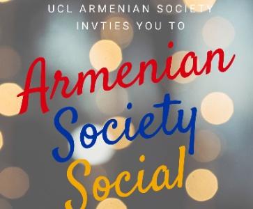 UCL Armenian Society Social
