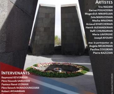 Veillée commémorative du Génocide des Arméniens