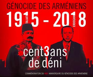 Veillée souvenir à la Stèle du génocide Square Manouk Stépanian