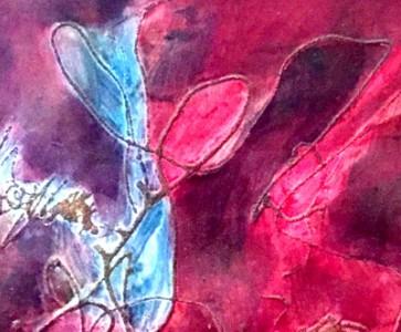 Vernissage de l'exposition des peintures de Hilda YOSMAYAN