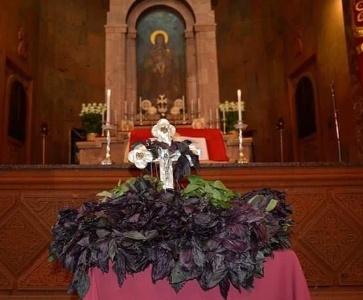 Սուրբ Խաչի տոնին նվիրված Սուրբ Պատարագը