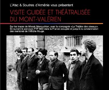 Visite guidée et théâtralisée du Mont-Valérien