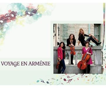 Voyage en Arménie avec le Quatuor Rhapsodie