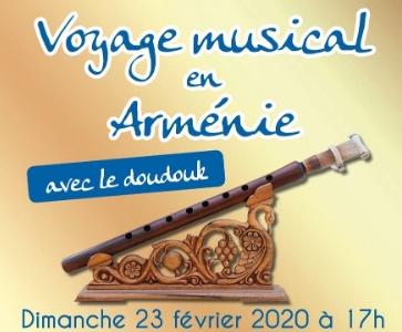 Voyage musical en Arménie avec le doudouk