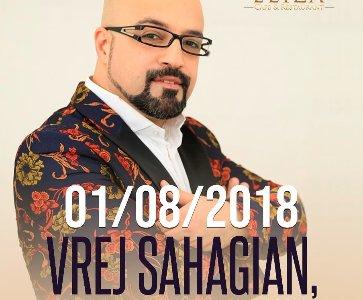 Vrej Sahagian 1st Time in Yerevan Concert