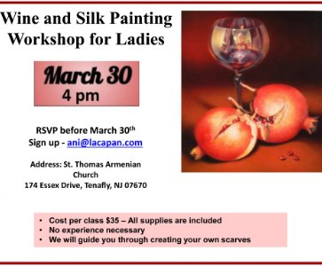 Wine & Silk Scarf Painting