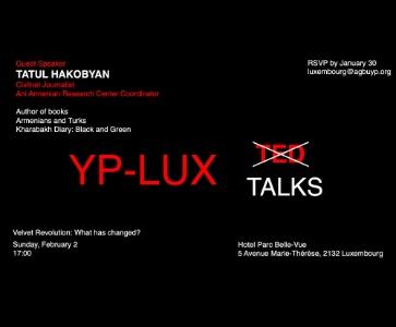 YP-Lux Talks: Velvet Revolution: What has changed?